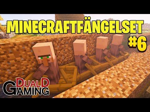 Våra fångar förs till fängelset - Minecraftfängelset 6