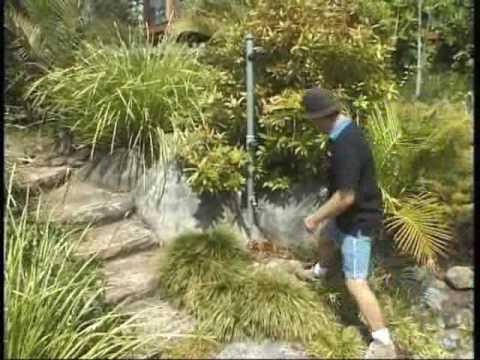 Artificial Fake Rocks DIY Walk Through Landscape - Artificial Fake Rocks DIY Walk Through Landscape - YouTube