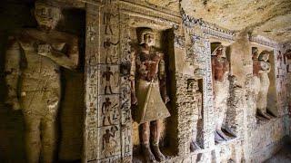 Extrem gut erhalten: Archäologen entdecken ägyptische Grabkammer