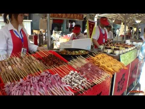 Food in Beijing - Trip to China part 15 - Travel video HD