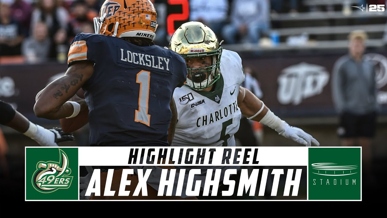 Edge rusher was  a walk-on? At UNC-Charlotte?