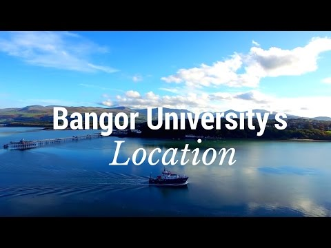 Bangor University's Location - A Student City in Scenic Surroundings