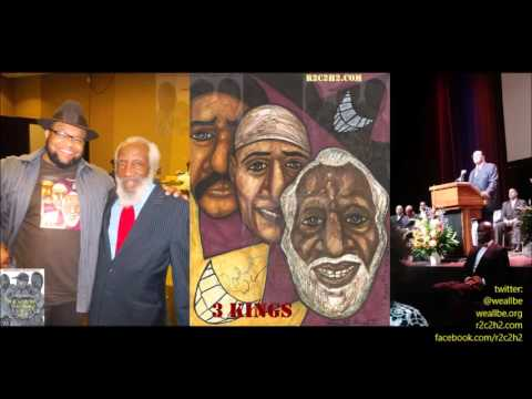 Baba Dick Gregory Goes IN On MIN. Louis Farrakhan, #JusticeOrElse, Scientology, Malcolm X