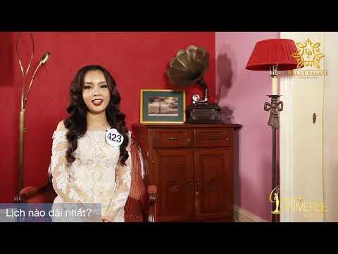 INTERVIEW | Nguyễn Thanh Vân Anh, SBD 423 | Top 45 Miss Universe Vietnam