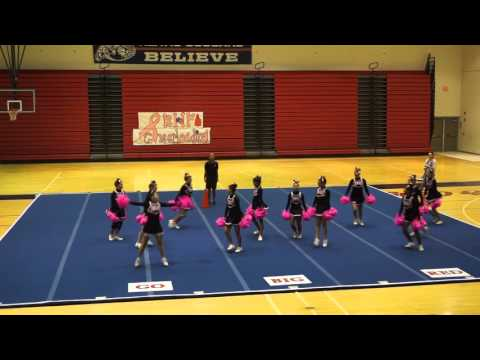 Hawaii Preparatory Academy (HPA) Cheerleaders 2nd Competition 2015