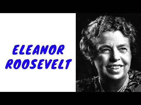 History Brief: Eleanor Roosevelt
