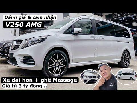 Đánh giá Mercedes V250 AMG 2020. Thân xe kéo dài + 2 ghế VIP Massage nóng lạnh - Giá từ 3 tỷ đồng