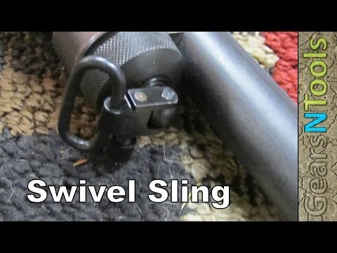 DIY Shotgun Swivel Sling Installation