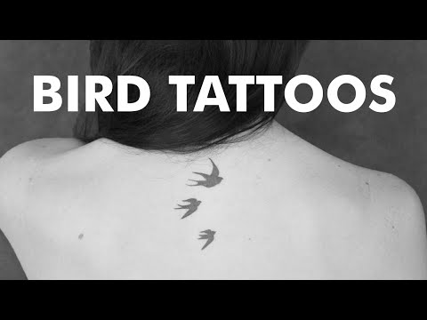 20 Lovely Bird Tattoo Designs