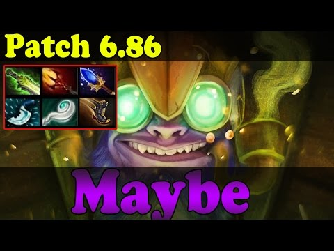 Dota 2 - Patch 6.86 - Maybe Plays Tinker Vol 1 - Ranked Match Gameplay!