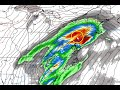 Daily forecast video Thursday January 17th, 2019