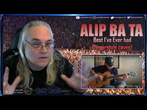 Alip Ba Ta - Accoustic Vertical Horizon Cover - Best I've Ever had - Requested Reaction