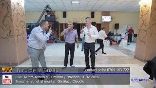 Nicu de la Buzau si Percea Mondialul ASCULTARE LIVE Nunta Adrian si Luminita 31-07-2016
