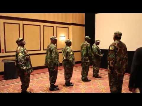 Former Biafran Soldiers Galant Parade @ the World Igbo Congress (WIC) meeting - Dallas,Texas