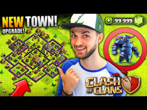 I'M BACK - NEW TOWN HALL UPGRADE! - Clash of Clans
