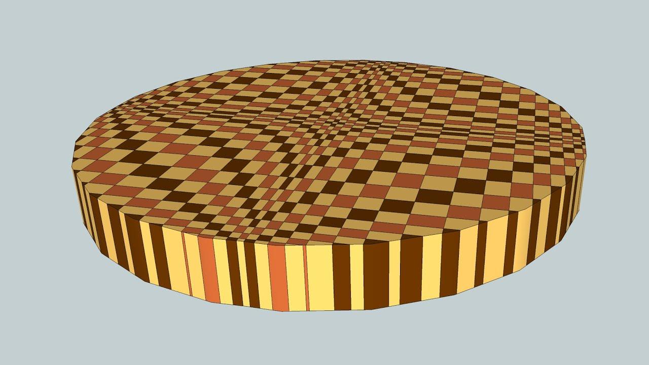 3d end grain cutting board plans. 3d end grain cutting board plans