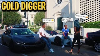 THE RICH FAMILY GOLD DIGGER EXPERIMENT! SHE WANTED ME & MY BROTHER!