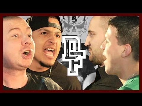 OSHEA & UNO LAVOZ VS ADI MONTENEGRO & L-DEEP   Don't Flop Rap Battle