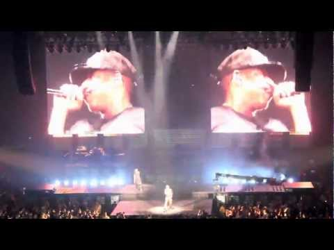 Jay-Z - Angels (Remix) Live Performance in Miami (Watch the Throne Tour)