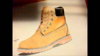 how to draw timberland boots