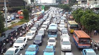 Tin tức 24h: Vấn nạn ùn tắc giao thông ở một số nước Đông Nam Á