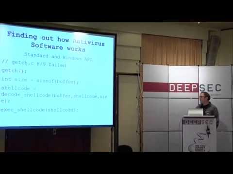 Why Antivirus Software fails - by Daniel Sauder @ DeepSec 2014