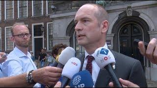 Alsnog formatiepoging VVD, D66, CDA, CU en brand school Amsterdam - Nieuwsminuut #2106