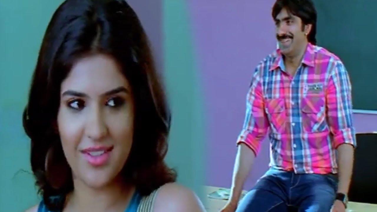 Ravi Teja & Deeksha Seth Funny Classroom Scene | TFC Movie Scenes