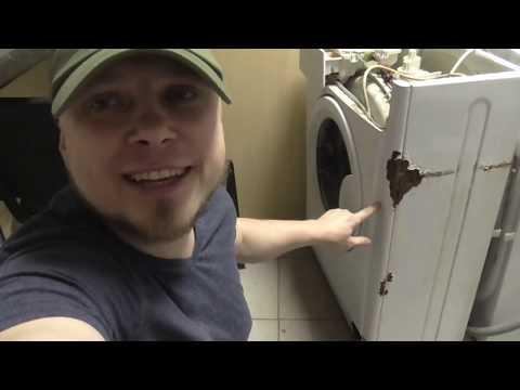 Как убрать ржавчину с холодильника