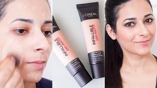 Baixar L'Oreal Infallible Matte Foundation First Impressions Review | Ysis Lorenna