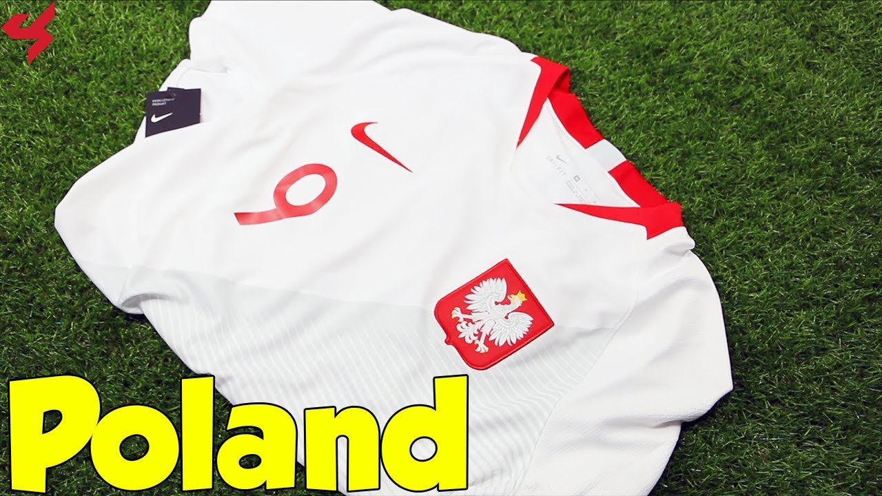 finest selection 6f7fd a2aca World Cup 2018 Nike Home Poland Lewandowski Soccer Jersey Unboxing + Review
