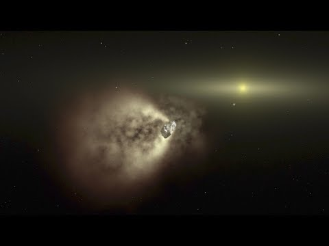 Swift Mission Catches a Comet Slowdown