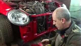 видео Кузовной ремонт Додж, покраска Додж