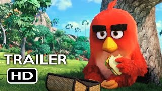 The Angry Birds Movie Official Trailer #1 (2016) Jason Sudeikis, Peter Dinklage Animated Movie HD