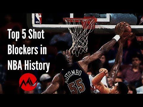 Top 5 Shot Blockers in NBA history