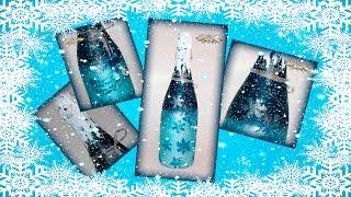Как быстро украсить бутылку шампанского. Новогодняя бутылка от Альбины Алферовой.(приходите http://www.handmadedecor.ru , пишите handmadedecor65@yandex.ru , звоните +7-917-502-76-57 Используемые материалы - где купить:..., 2015-12-24T07:10:09.000Z)