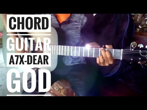 Chord guitar Dear God Avenged Sevenfold