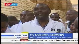Agriculture CS tours Eldoret, ensures farmers of adequate storage space