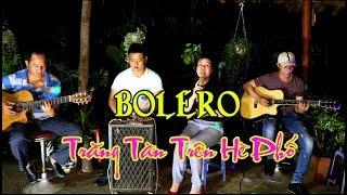 Nhạc Lính / Bolero guitar / Trăng Tàn Trên Hè Phố / phạm Thế Mỹ  / ca lẻ Ngọc Thảo và nhóm Mái Lá