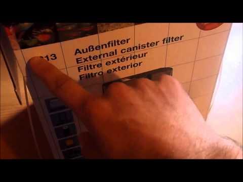 Unboxing filtro eheim 2213
