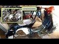 1960s Vespa motor rebuild