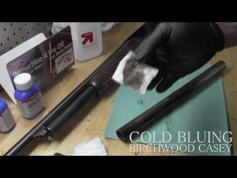 Birchwood Casey Gun Bluing   How To Cold Blue