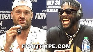 HIGHLIGHTS | TYSON FURY VS. DEONTAY WILDER 3 KICK-OFF PRESS CONFERENCE & LONGEST FACE OFF EVER