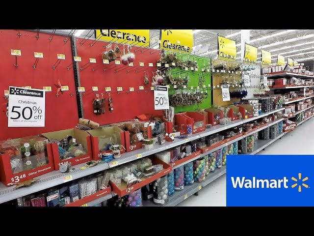 Walmart After Christmas Clearance Sale Christmas Shopping Decorations Ornaments Decor Youtube