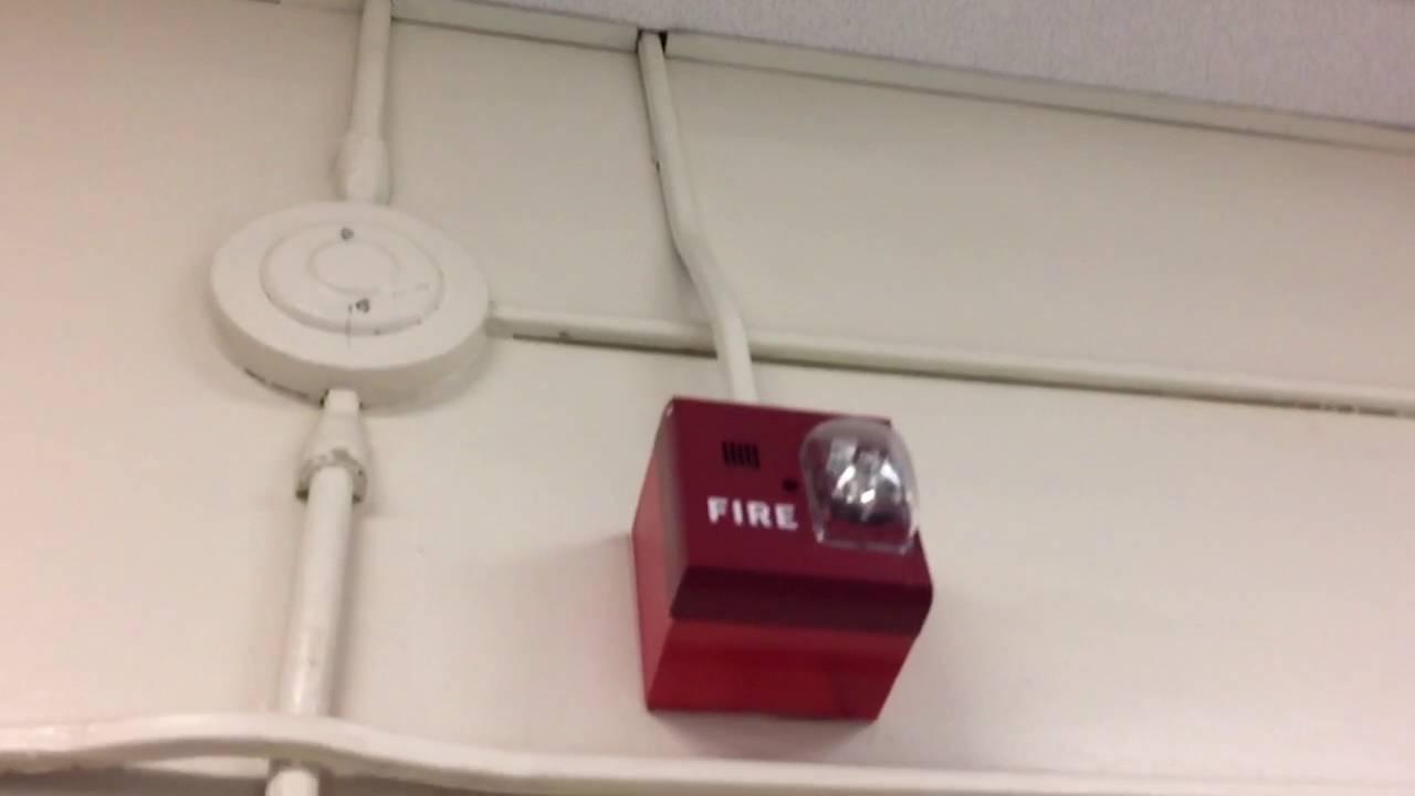 fire alarm system goes off at school youtube. Black Bedroom Furniture Sets. Home Design Ideas