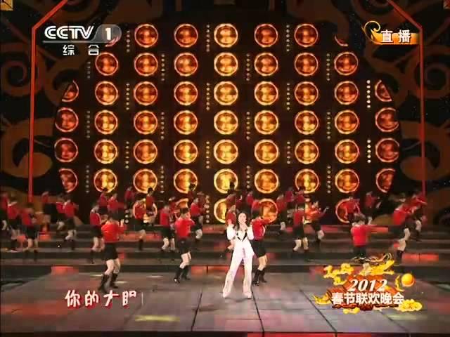 2012 |CCTV春晚  歌曲《冬天里的一把火》金美儿| CCTV春晚