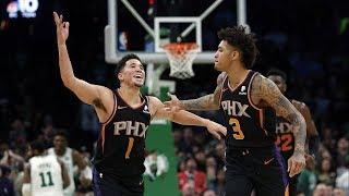 Suns Beat Celtics! Kelly Oubre Debut! 2018-19 NBA Season