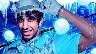 SLIDING ON ICE! - Tower Unite Mini Golf