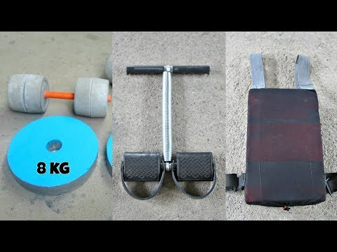 Homemade Gym Equipment - AWESOME Gym Ideas