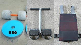 Homemade Gym Equipment - AWESOME Gym Ideas